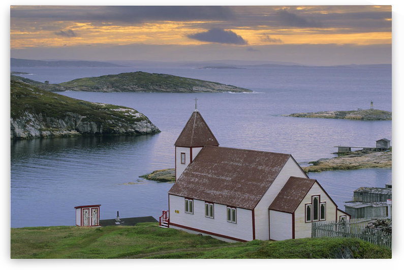 Saint James Anglican Church, Battle Harbour, Newfoundland & Labrador by PacificStock