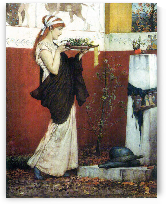 The last roses by Alma-Tadema by Alma-Tadema