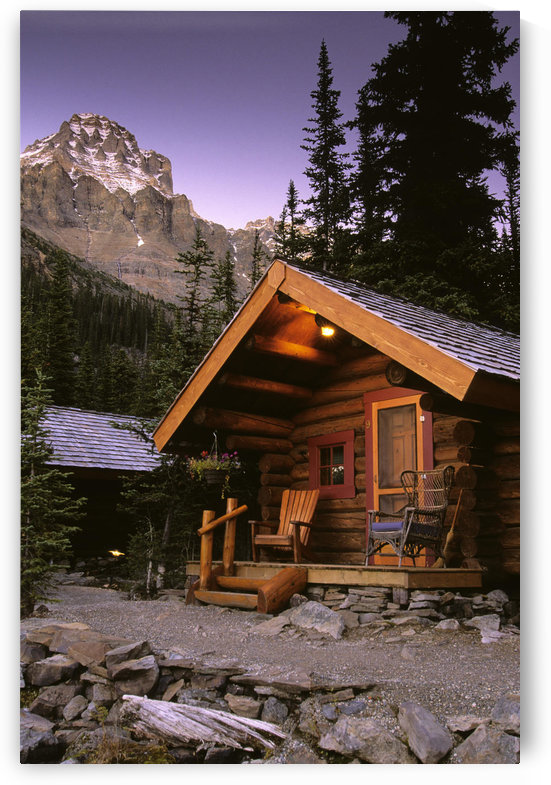 Cabin In Yoho National Park, Lake O'hara, British Columbia by PacificStock