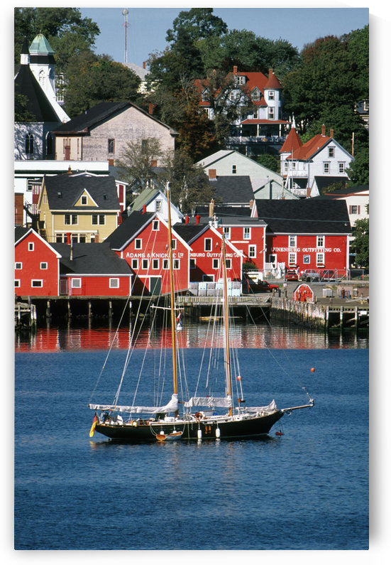 World Hertitage Designated Town On South Shore, Lunenburg, Nova Scotia. by PacificStock