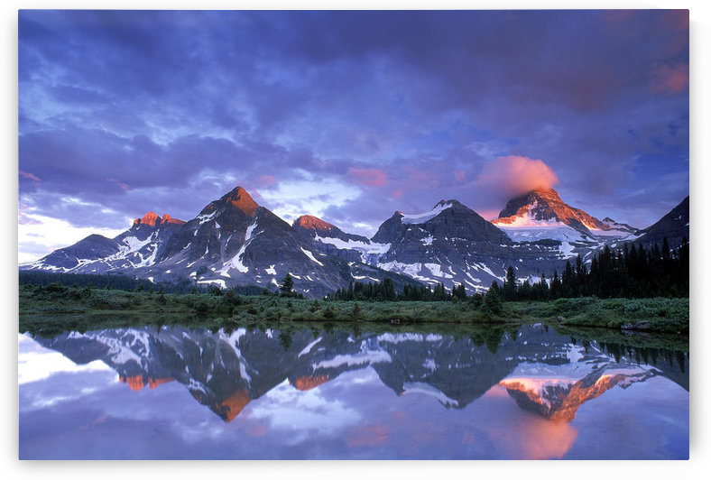 Mt Assiniboine Provincial Park, British Columbia, Canada by PacificStock