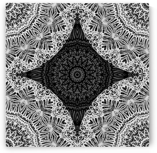 Mandala Mehndi Style G474 by Medusa GraphicArt