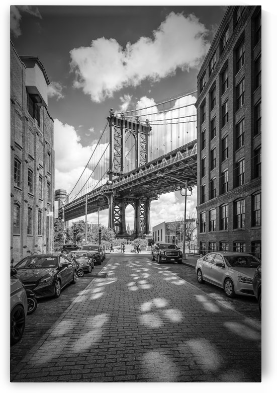 NEW YORK CITY Manhattan Bridge by Melanie Viola