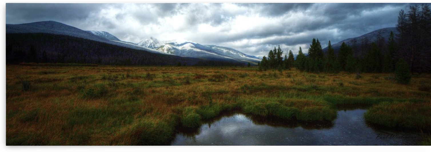 Snowy Peaks by Paul Winterman