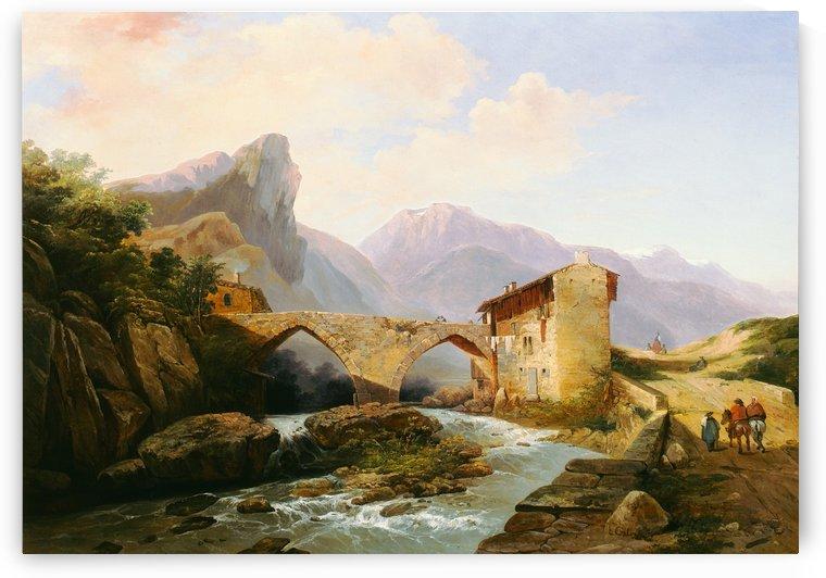 Veduta della Brianza by Ercole Calvi