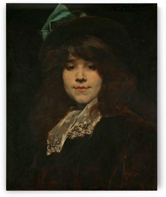 Portrait of Juana Romani by Juana Romani
