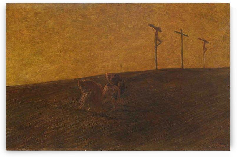 Trafugamento del corpo di Cristo, 1912 by Gaetano Previati