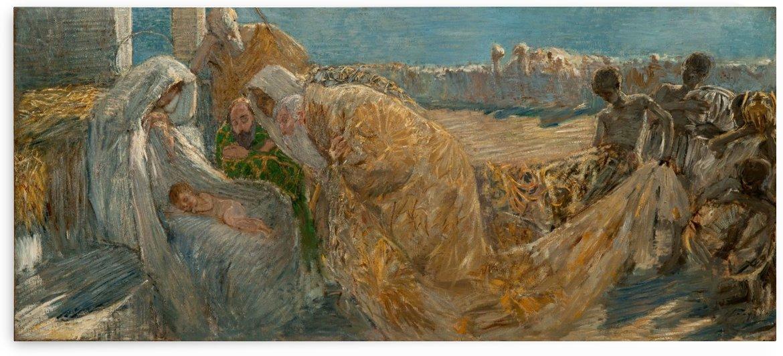 Adorazione dei Magi by Gaetano Previati