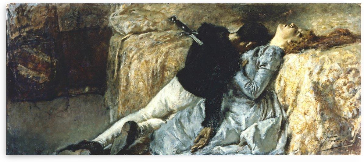 Morte di Paolo e Francesca by Gaetano Previati