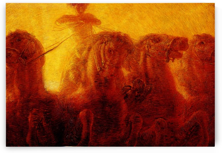 The Chariot of the Sun by Gaetano Previati