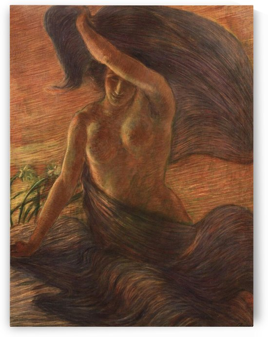 The Wind by Gaetano Previati