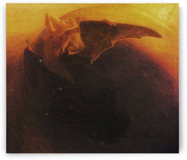 Wide awake Day and the Night by Gaetano Previati