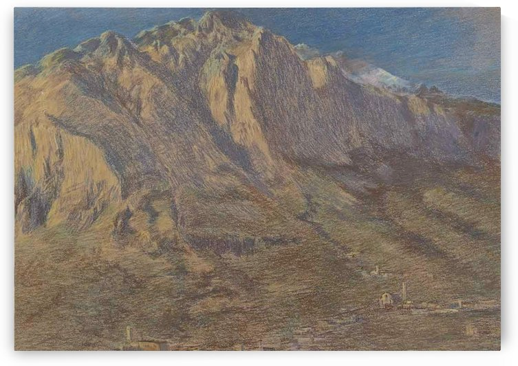 San Martino, 1897 by Gaetano Previati