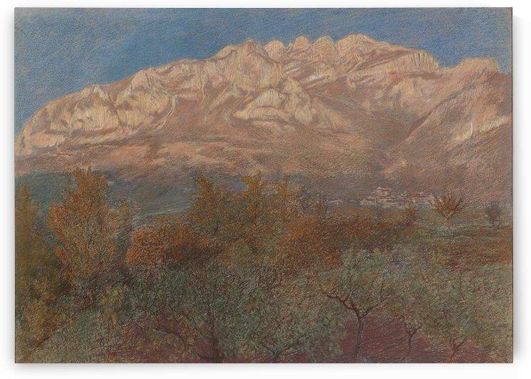 Il monte Resegone, 1897 by Gaetano Previati