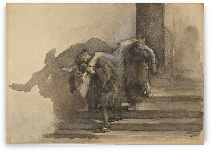 The Monatti by Gaetano Previati