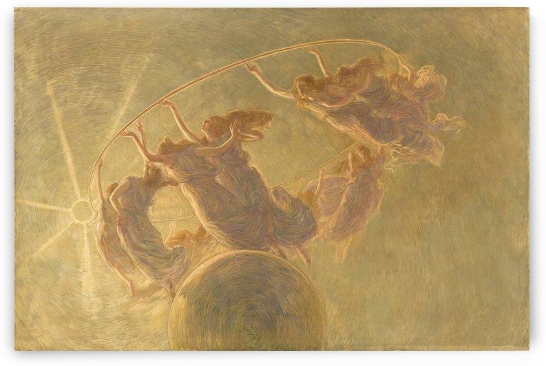 La danza delle ore by Gaetano Previati