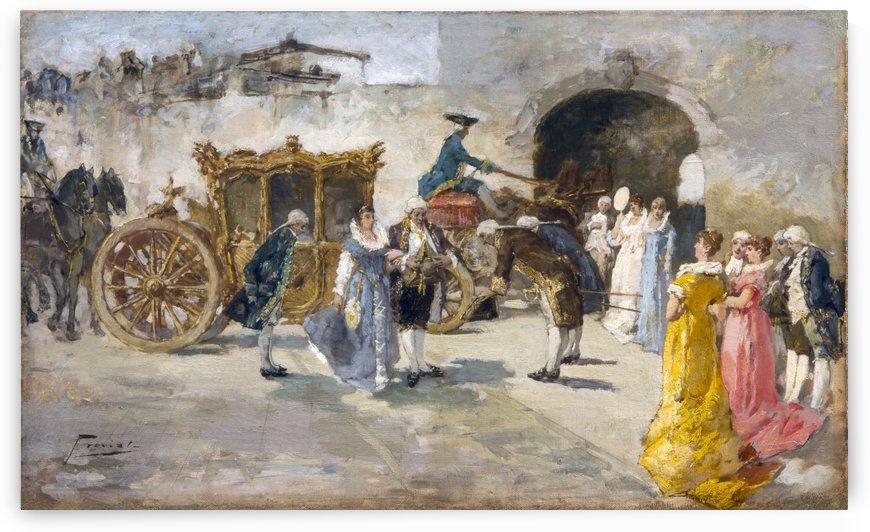 Carrozza d'oro by Gaetano Previati