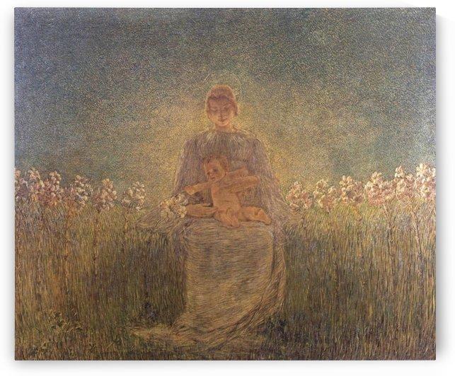 Madonna dei Gigli by Gaetano Previati