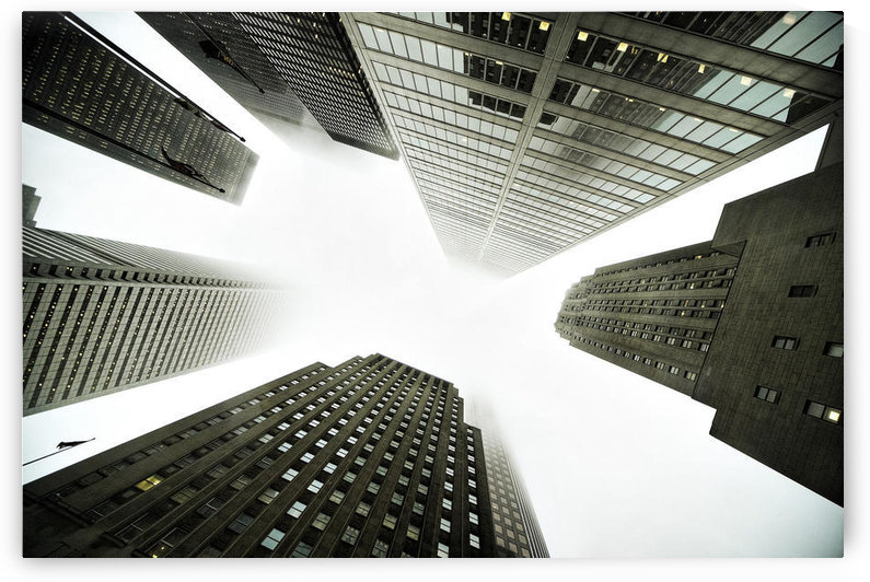 Architectural Photographs Of Business District In Toronto, Ontario by PacificStock