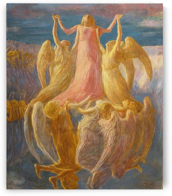 The Assumption by Gaetano Previati