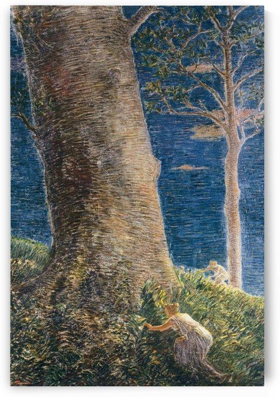Race to the big tree by Gaetano Previati