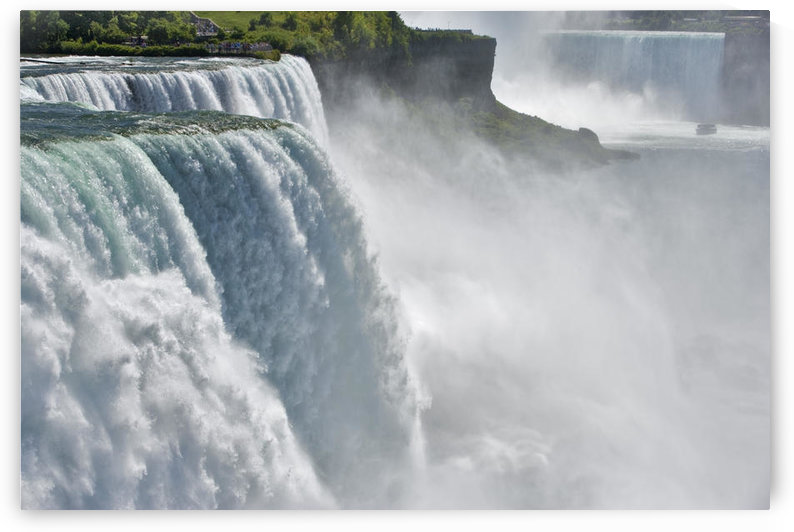 The American Falls From Prospect Point, Niagara Falls, New York, Usa by PacificStock