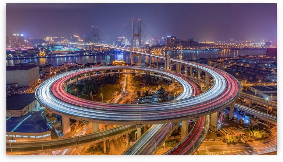 The Nanpu Bridge by 1x