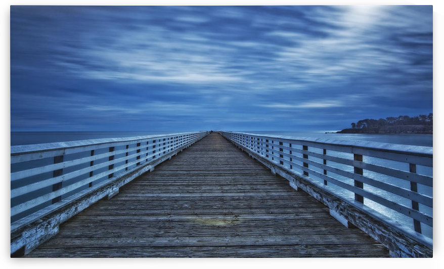 Hearst Wharf, California. Long Exposure. by PacificStock