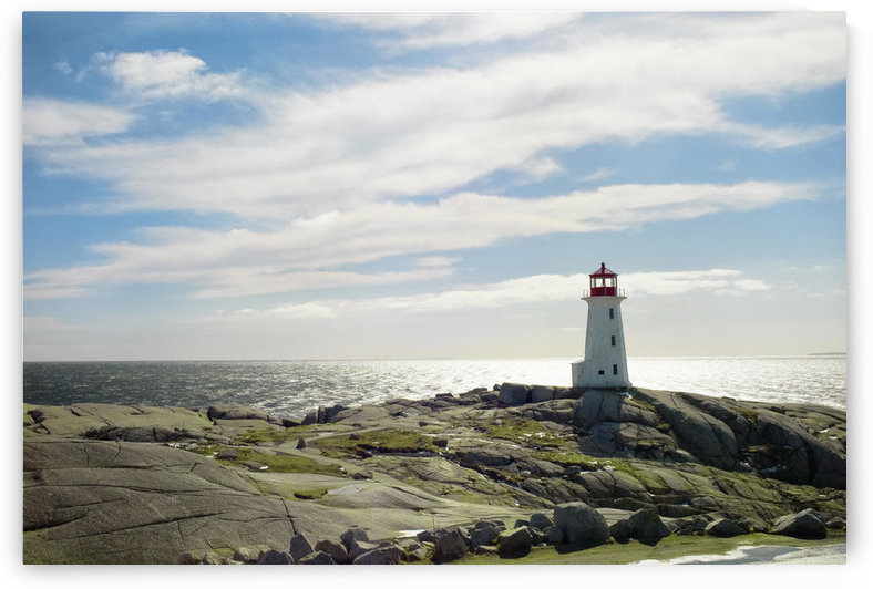Lighthouse, Peggy's Cove, Nova Scotia by PacificStock
