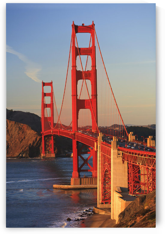 Golden Gate Bridge; San Francisco, California, United States of America by PacificStock