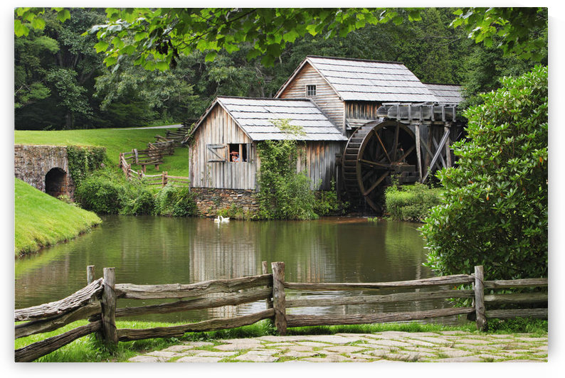 Mabry Mill, Blue Ridge Parkway National Park, Virginia by PacificStock