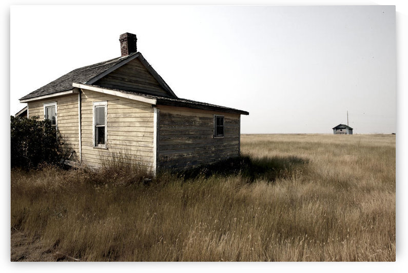 Abandoned Building In Ghost Town Of Robsart, Saskatchewan, Canada by PacificStock