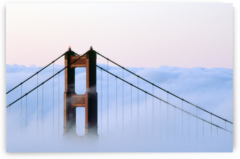 San Francisco, Golden Gate Bridge, Morning Fog, Ca by PacificStock