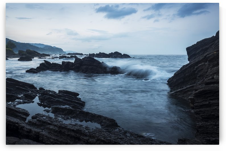Waiao beach in Yilan County, beautiful volcanic landscape; Taiwan, China by PacificStock