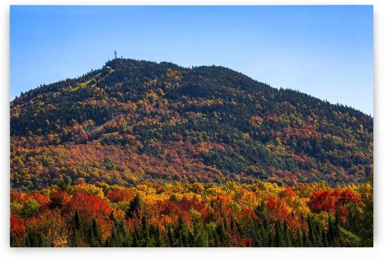 Owl's Head mountain; Potton, Quebec, Canada by PacificStock