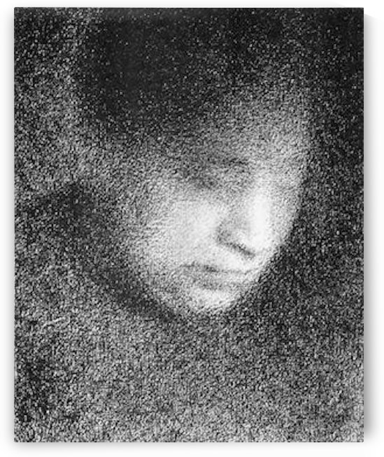 Seurats mother by Seurat by Seurat