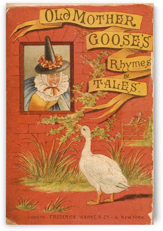 Cover from Old Mother Goose's Rhymes and Tales   Illustration by Constance Haslewood  Published by Frederick Warne & Co London and New York circa 1890s. Chromolithography by Emrik & Binger of Holland by PacificStock
