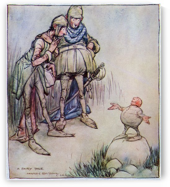 A Fairy Tale. From the picture by Harold C Earnshaw from the book Princess Marie-José's Children's Book published 1916. by PacificStock