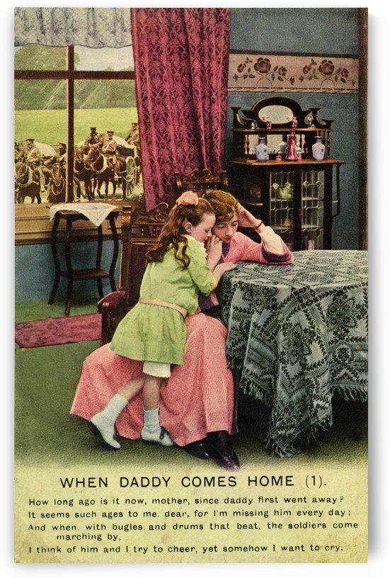 Original  First World War postcard by PacificStock
