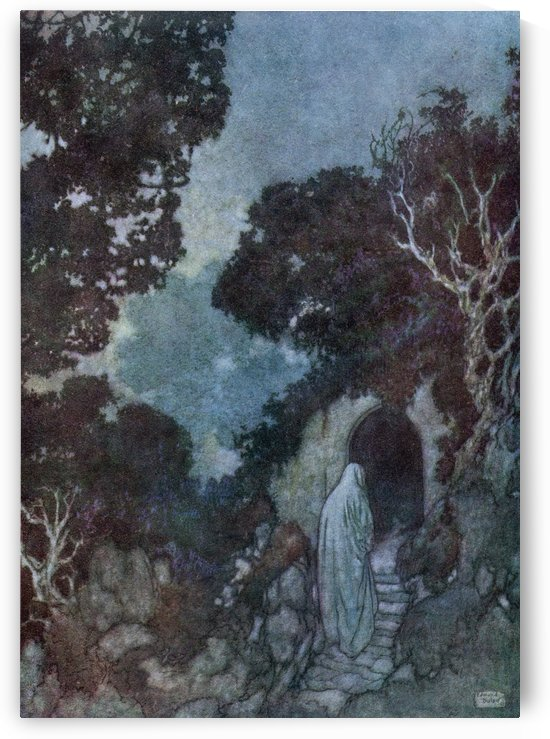 For some we loved, the loveliest and the best That from his Vintage rolling Time has prest, Have drunk their Cup a Round or two before, And one by one crept silently to rest.  Illustration by Edmund Dulac from the Rubaiyat of Omar Khayyam, published 1909. by PacificStock