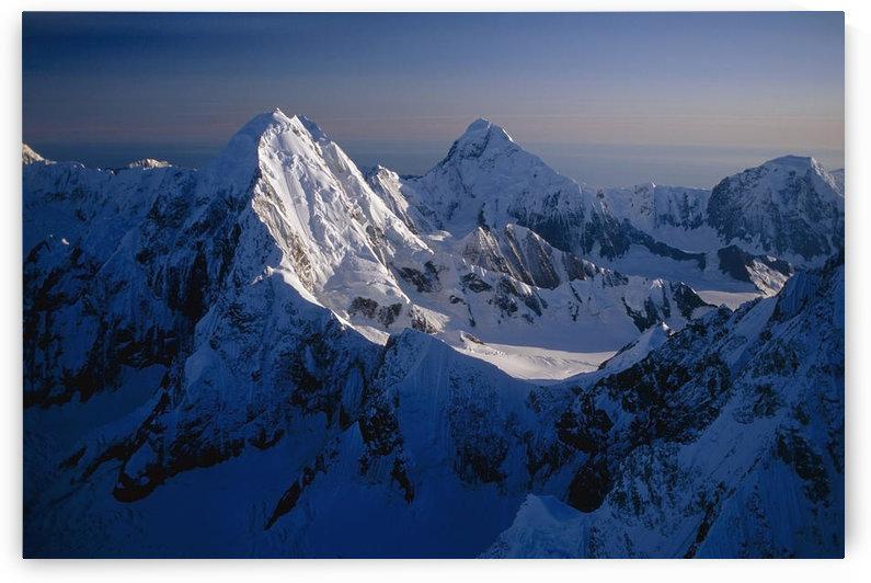 Mtn Peak Next To Mt Fairweather Southeast Ak Glacier Bay National Monument by PacificStock