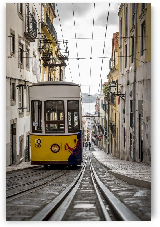 Tram; Lisbon, Portugal by PacificStock