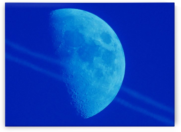 Blue moon by Andy Jamieson