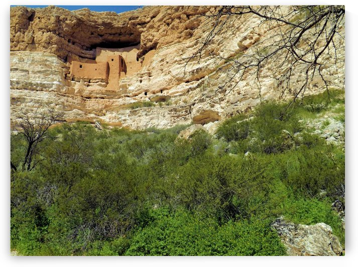 Montezuma's Castle-14 by Arizona Photos by Jym