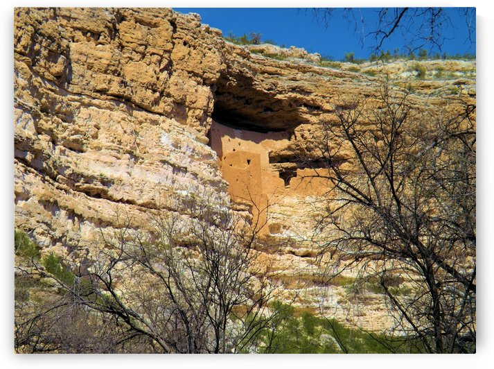 Montezuma's Castle-7 by Arizona Photos by Jym