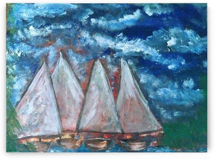 Sail Away by BastetsTreazures