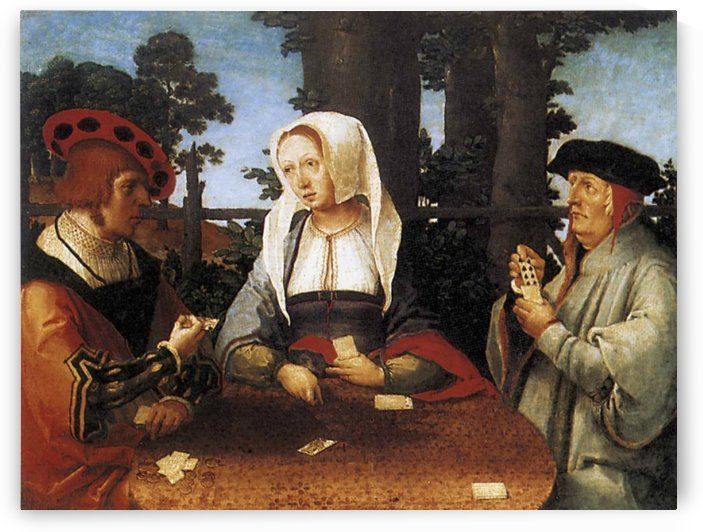Card players by Lucas van Leyden