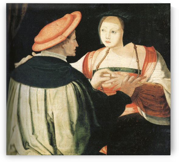 The engagement by Lucas van Leyden