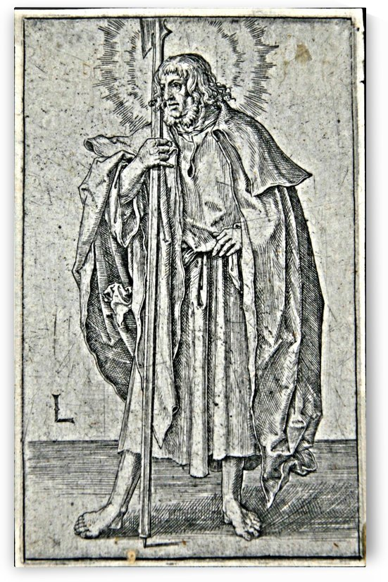 San Mateo, 1510 by Lucas van Leyden