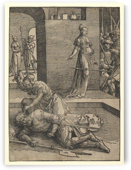 Jael Killing Sisera by Lucas van Leyden